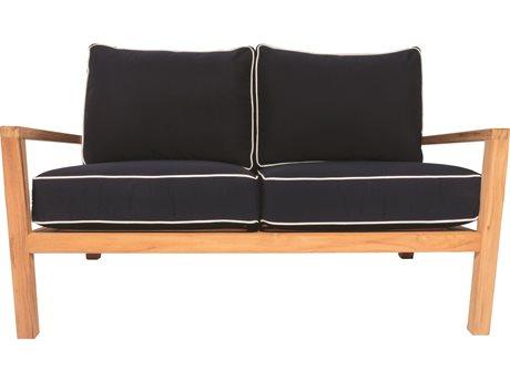 Royal Teak Collection Coastal Loveseat / 2 - Seater