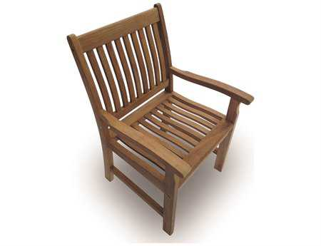 Royal Teak Collection Compass Dining Arm Chair PatioLiving