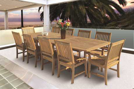 Royal Teak Collection Compass Dining Set PatioLiving