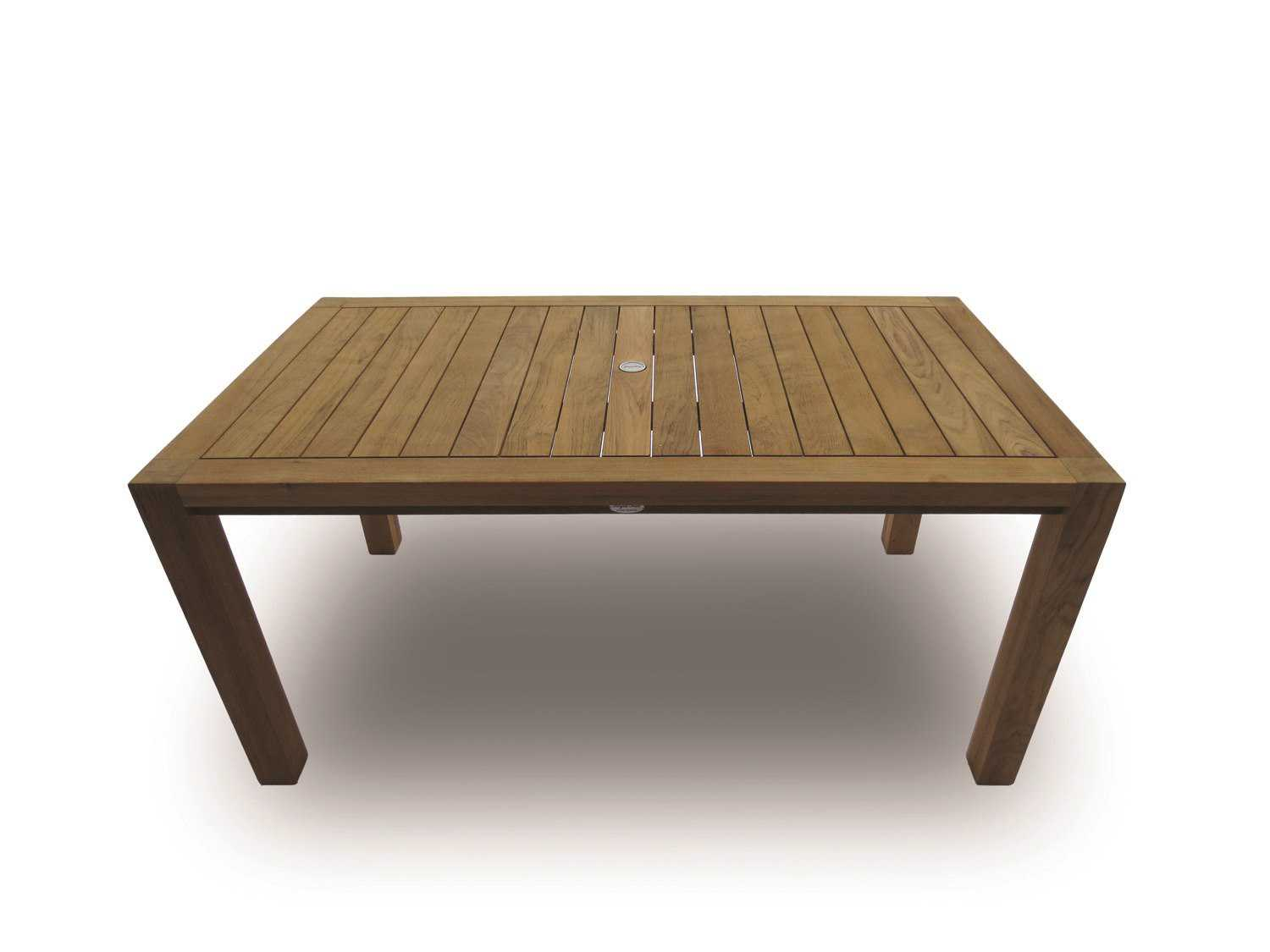 Royal teak collection comfort 63 x 35 rectangular dining for Royal dining table