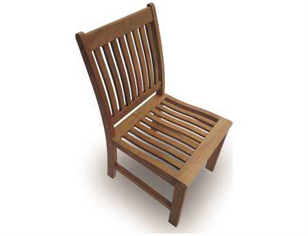 Royal Teak Collection Compass Dining Side Chair PatioLiving