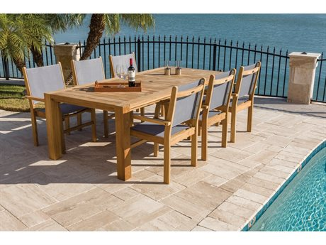 Royal Teak Collection Captiva Teak Dining Set PatioLiving