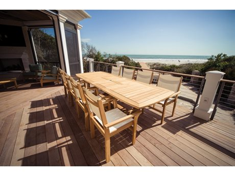 Royal Teak Collection Captiva Dining Set PatioLiving