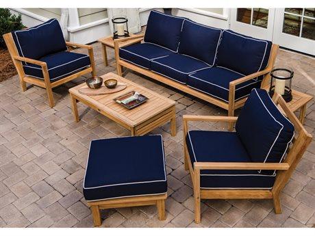 Royal Teak Collection Coastal Lounge Set PatioLiving