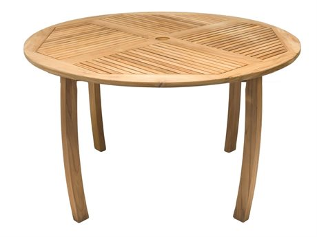 Royal Teak Collection Dolphin 50'' Round Table RLDP50R