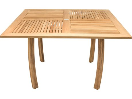 Royal Teak Collection Dolphin 50'' Square Table RLDP50S