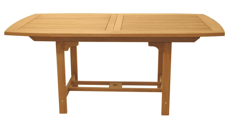 royal teak collection expansion 60 x 35 rectangular family dining table fer6. Black Bedroom Furniture Sets. Home Design Ideas