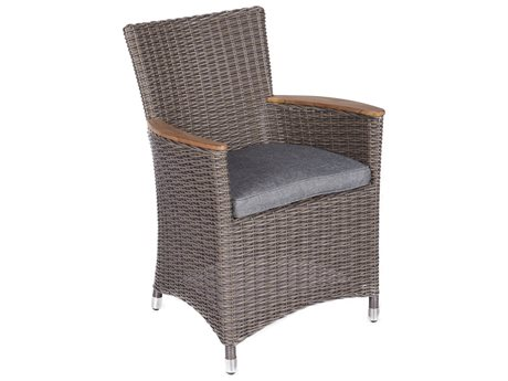 Royal Teak Collection Helena Chair Gray / Gray Cushion