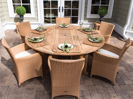 Helena Wicker Dining Set