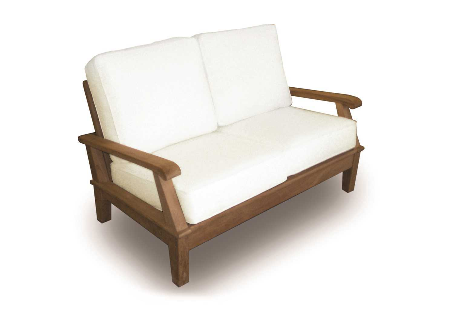 Royal Teak Collection Miami Adjustable Loveseat Frame Only Mia2fo