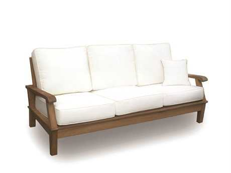Royal Teak Collection Miami Multi-Color Cushion Sofa PatioLiving