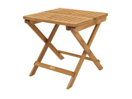 Royal Teak Classic 20'' Wide Square End Table PatioLiving