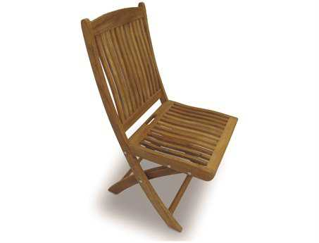 Royal Teak Collection Sailor Folding Dining Side Chair PatioLiving