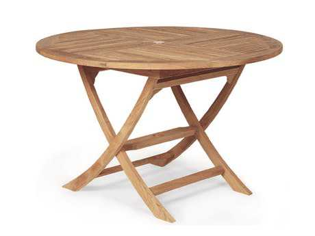 Royal Teak Collection Sailor 47'' Wide Round Dining Table PatioLiving