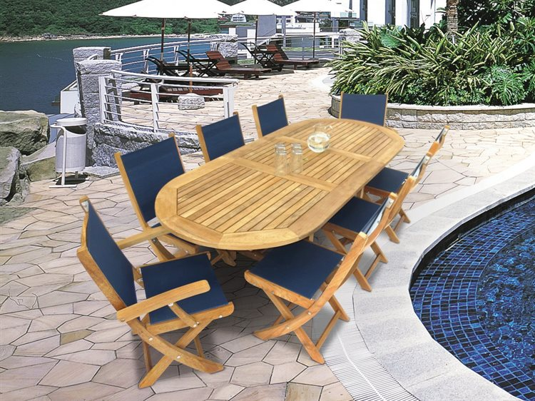 Royal Teak Collection Sailmate Dining Set PatioLiving