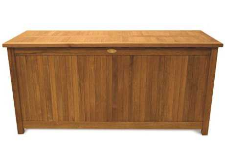 Royal Teak Collection 53''W x 21.5''D Storage Box PatioLiving