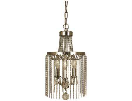 Framburg Guinevere Three-Light 8'' Wide Chandelier