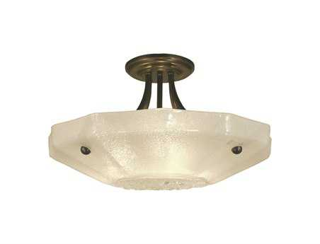 Framburg Veronique Three-Light Semi-Flush Mount