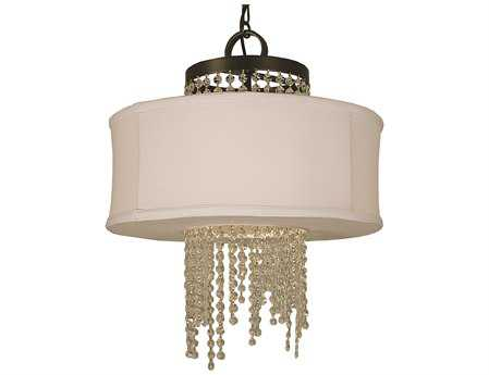Framburg LED Angelique Four-Light 18'' Wide Chandelier