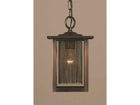 Framburg Gymnopedie Siena Bronze Outdoor Ceiling Light