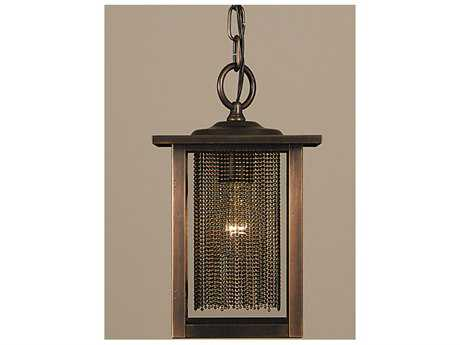 Framburg Gymnopedie Siena Bronze Outdoor Hanging Light