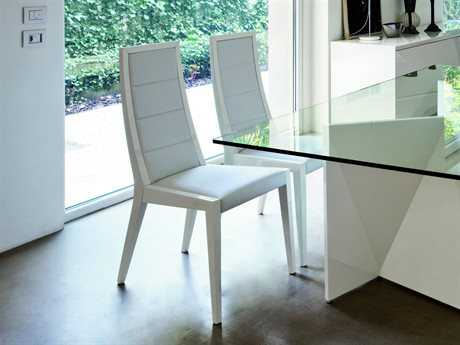 Rossetto Sapphire White Dining Side Chair (2 Piece Set)