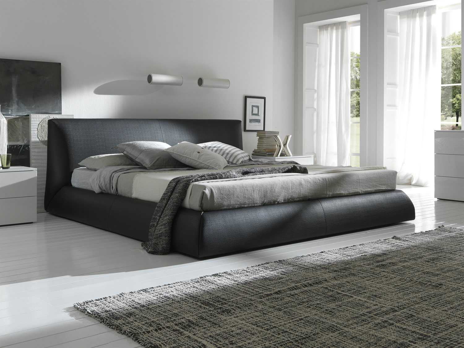 p grey platform fabric chasin transitional size polyester bed style queen