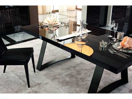Rossetto Nightfly 79'' x 41'' Rectangular Dining Table