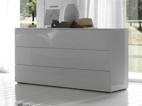 Rossetto Cloud Fun Glossy White Dresser