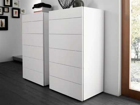 Rossetto Start White Matrix Chest of Drawers