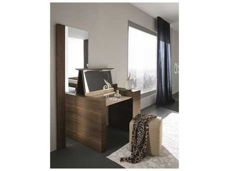 Rossetto Air 24'' x 71'' Thermotrattato Oak Floor Mirror with LED Lights