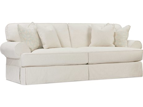 Rowe Furniture Addison Two-Cushion Sofa with Slipcover