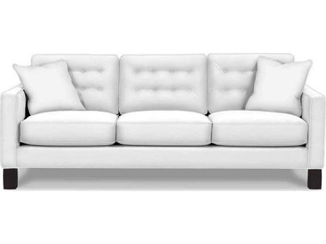 Rowe Furniture Abbott Wood Leg Sofa