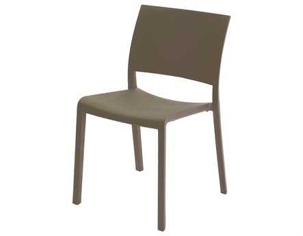 Resol Fiona Recycled Plastic Chocolate Side Chair