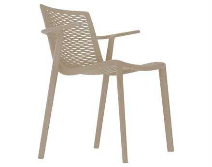 Resol Net Kat Recycled Plastic Sand Arm Chair
