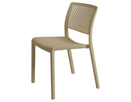 Resol Trama Recycled Plastic Sand Side Chair
