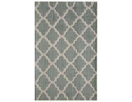 Rugs America Gramercy Rectangular Spearmint Area Rug