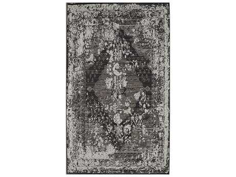 Rugs America Talbot Rectangular Vintage Charcoal Area Rug