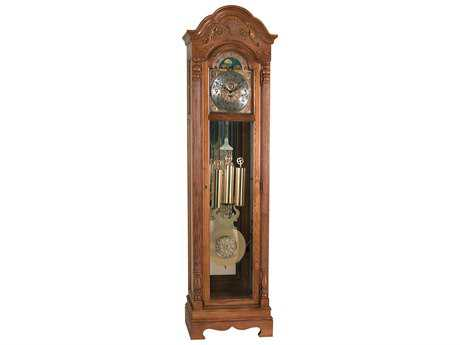 Ridgeway Clocks Holland Treasure Oak Grandfather Clock