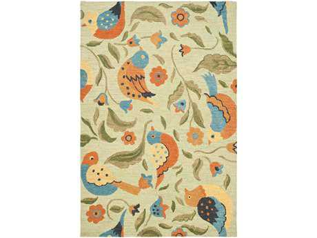 Safavieh Blossom Rectangular Sage / Assorted Area Rug