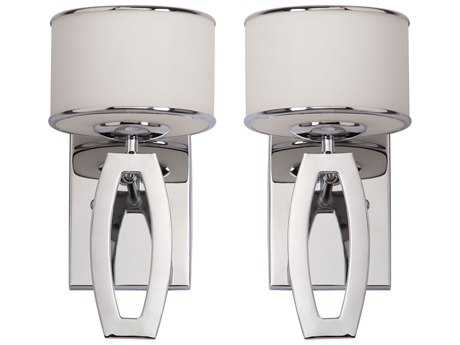 Safavieh Lenora Chrome Wall Sconce (2 Piece Set)