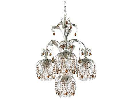 Schonbek Rondelle Four-Light 18'' Wide Chandelier
