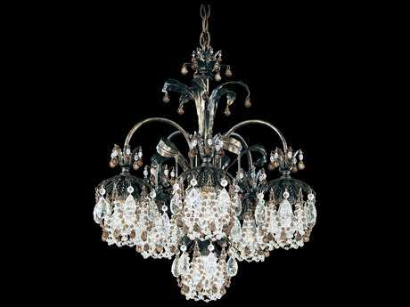 Schonbek Rondelle Six-Light 21'' Wide Chandelier