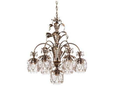 Schonbek Rondelle Seven-Light 24'' Wide Chandelier