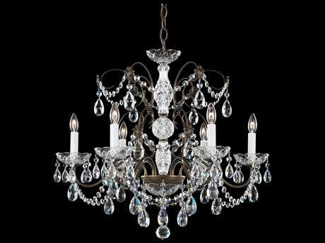 Schonbek Madison Six-Light Chandelier
