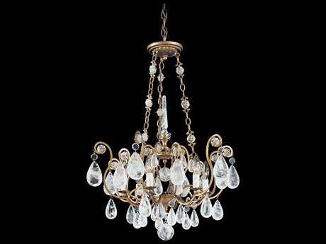 Schonbek Versailles Rock Crystal Six-Light 22'' Wide Grand Chandelier