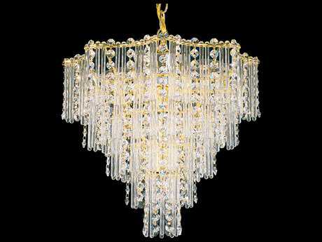 Schonbek Jubilee Seven-Light 14'' Wide Mini Chandelier