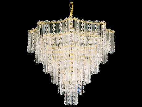 Schonbek Jubilee Nine-Light 17'' Wide Mini Chandelier
