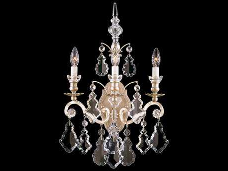 Schonbek Versailles Three-Light Wall Sconce