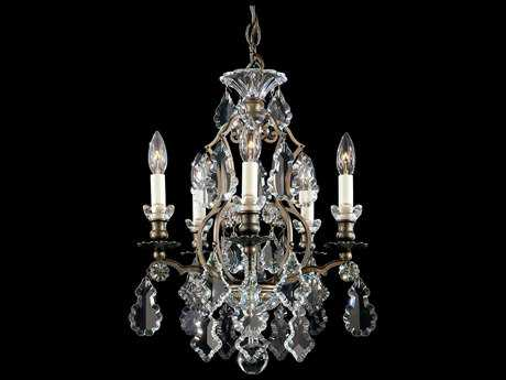 Schonbek Versailles Five-Light 14'' Wide Mini Chandelier
